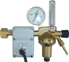 Баллонный редуктор GCE DINFLOW Plus с ротаметром и подогревателем