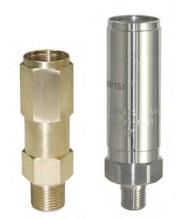 Предохранительный клапан для чистых газов GCE Druva