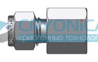 Фитинг прямой конфигурации штуцер с внутренней конической резьбой серии CFC