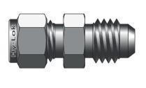 Фитинг прямой конфигурации соединение дюймовых трубок с развальцованными серии CFU