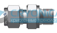 Фитинг прямой конфигурации штуцер с наружной цилиндрической резьбой серии CMC-G