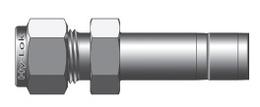 Трубные переходники для метрических трубок с дюймовым фитингом серии CR