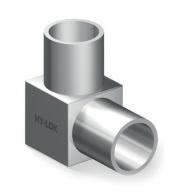 Переходник угловой приварной для чистых сред серии H-MLA