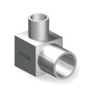 Переходник угловой приварной для чистых сред понижающий серии H-MLA
