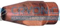 Мундштук наружный №1ПТМ (Р3Птм) (шлицевый)
