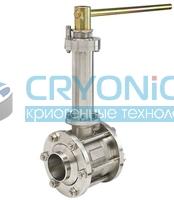 Трех корпусные криогенные шаровые краны Meca Inox серии PY4 CY DN65-100