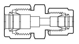 Фитинги из перфторалкокси переходные муфты