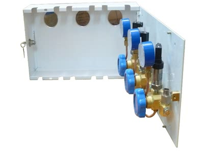 Коробка поэтажная отключающая УГВ-4/3 (с датчиками дистанционного контроля)