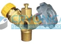 Клапан для отбора газообразной фазы REGO серии 7556R