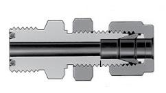 Фитинг с торцевым кольцевым уплотнением VCO и трубным обжимным фитингом с монтажной гайкой