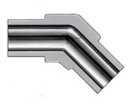 Фитинг угловой конфигурации 45° под приварку Micro-Fit