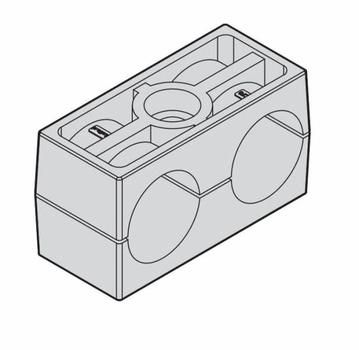 Зажим стандарт двойной N1.CF2 18