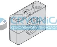 Зажим усиленный N1. CP10 406
