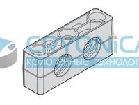 Зажим усиленный двойной N1.CP2 D 26