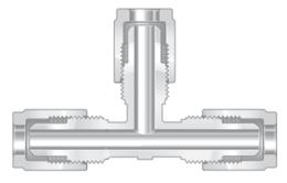 Фитинги высокой чистоты из перфторалкокси муфты тройники прямые