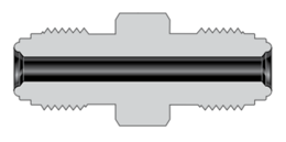 Фитинги с торцевым уплотнением VCR корпуса муфта с наружной резьбой