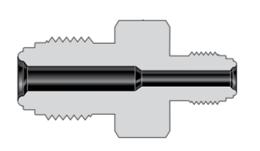 Фитинги с торцевым уплотнением VCR корпуса переходная муфта с наружной резьбой