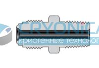 Фитинги с торцевым уплотнением VCR корпуса соединитель с наружной резьбой NPT