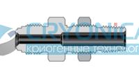 Фитинги с торцевым уплотнением VCR корпуса соединитель с наружной резьбой NPT с монтажной гайкой