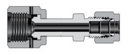 Фитинги с торцевым уплотнением VCR сварные узлы соединитель с трубным обжимным фитингом Swagelok