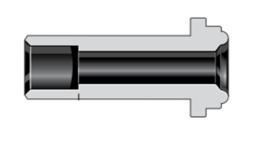 Фитинги с торцевым уплотнением VCR втулки короткое сварное соединение враструб