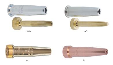 Мундштуки NFF, NX, AC, A для резаков типа X 650 (HARRA)
