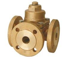 Трехходовой пробковый клапан серии 14170
