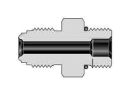 Фитинги с торцевым уплотнением VCR корпуса соединитель с наружной цилиндрической резьбой и кольцевым уплотнением