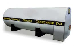 Стационарный резервуар РДХ-4,0-2,0 для хранения углекислоты