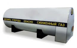 Стационарный резервуар РДХ-8,0-2,0 для хранения углекислоты
