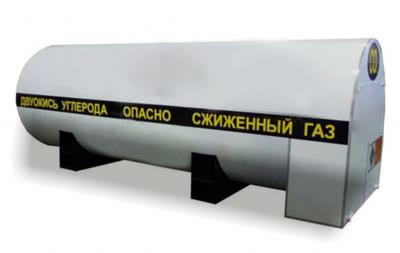 Стационарный резервуар РДХ-40,0-2,0 для хранения углекислоты