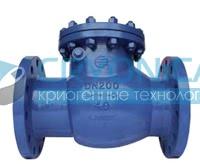 Обратный клапан поворотный EM44001, EM44002