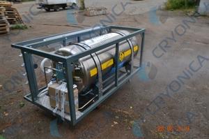 Полукубовый газификатор для резки металла