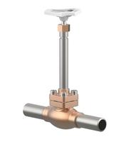 Тип 01311 Запорный клапан с припаянными трубками из нержавеющей стали