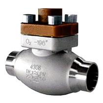 Обратный клапан тип 05416 под приварку