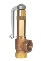 Предохранительный клапан тип 06395 с подъемным устройством