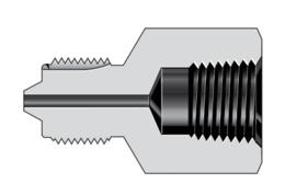 Соединители с внутренней трубной резьбой и наружной резьбой высокого давления