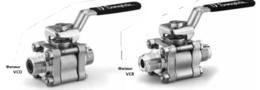 Шаровые краны  серии 60 с торцевыми соединениями в виде фитингов с торцевым кольцевым уплотнением VCO и VCR  универсального назначения