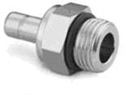 Трубные переходники с наружной цилиндрической резьбой  SAE/MS (серия ST)
