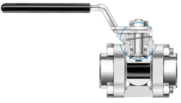 Шаровые краны для работы при высокой цикличности (R60T)