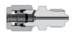 Соединения с наружной резьбой высокого давления и трубным обжимным фитингом высокого давления