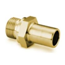 Трубные переходники с наружной цилиндрической резьбой ISO/BSP (серия RS)