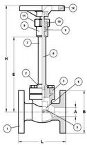 Криогенный запорный вентиль CAEN CRYO VCBS-1150