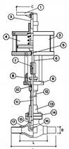 Криогенный запорный клапан CAEN CRYO VCB 600-NC