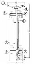 Криогенный запорный вентиль CAEN CRYO VHP-6000, 6000T