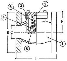 Криогенный обратный клапан CAEN VCR-1150