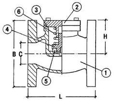Криогенный обратный клапан CAEN VCR 1600