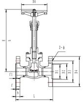 Криогенный запорный клапан CCK T327DA10-100 PN40