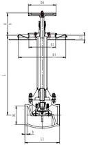 Криогенный запорный клапан блочный CCK T329DA125A-200A PN40