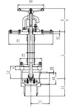 Криогенный запорный клапан угловой CCK T151DL125-250 PN10